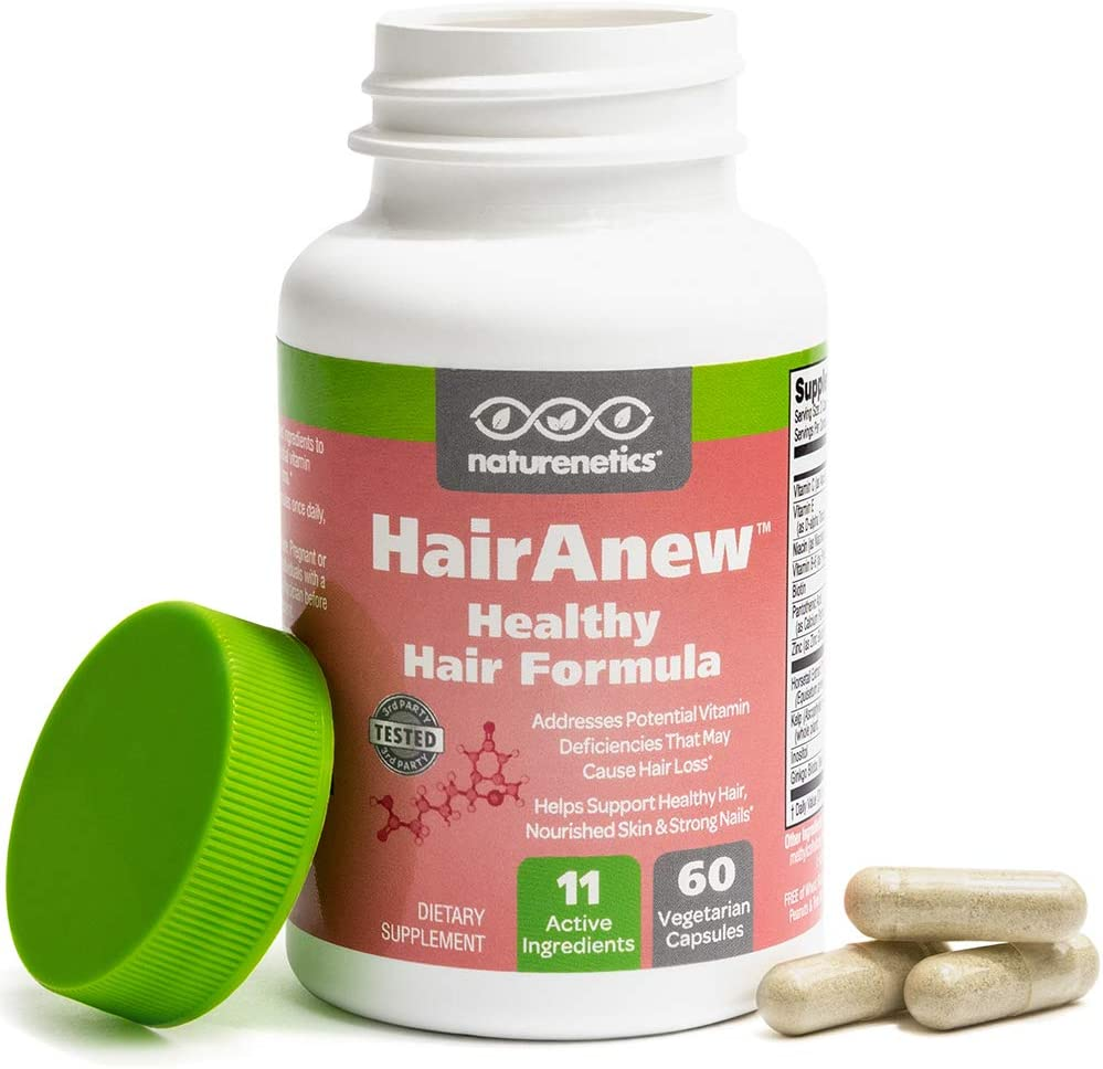 HairAnew (Unique Hair Growth Vitamins with Biotin)