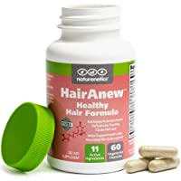 HairAnew (Unique Hair Growth Vitamins with Biotin) - Tested - for Hair, Skin and...