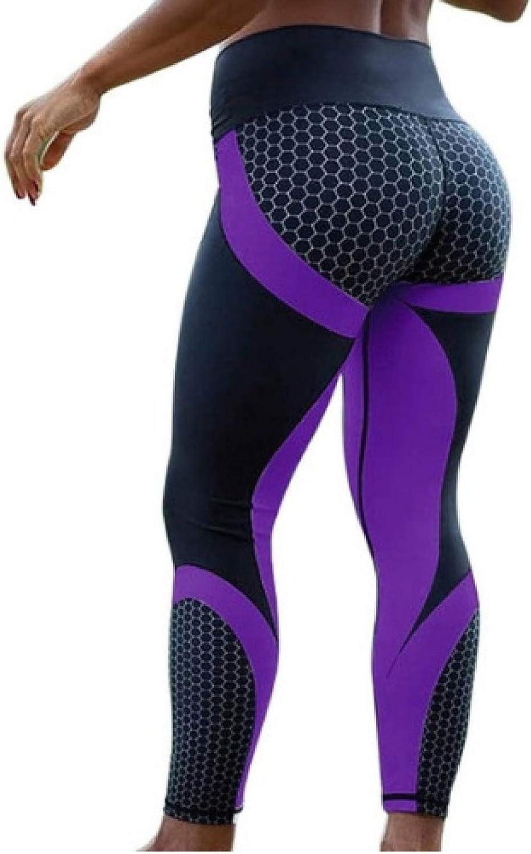NIGHTMARE Fitness Sports Leggings Mujer Yoga Pantalones Pantalones Cintura Alta Entrenamiento Mallas para Correr Estiramiento Correr Entrenamiento