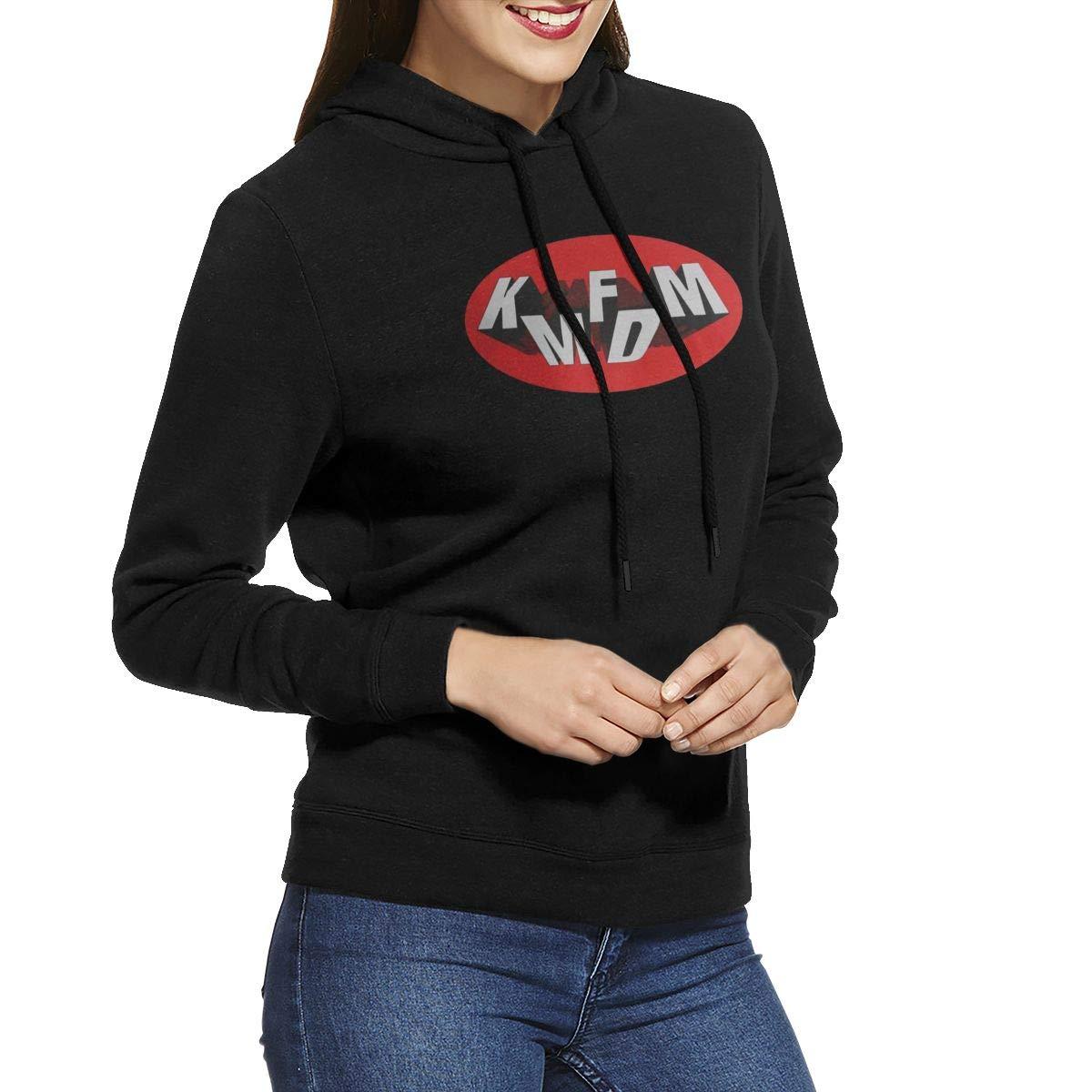 Dwghjvwer Womens KMFDM Logo Hoodie