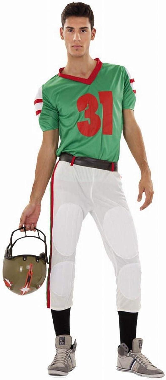 Disfraz de jugador de Fútbol Americano para hombre: Amazon.es ...