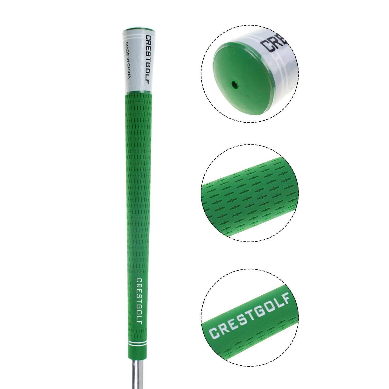 13pcs---Puños de golf tamaño estándar agarre de hierro de golf palos de golf agarre de goma palo de golf antideslizante