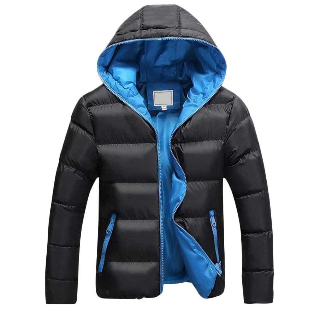 Sharemen Casual Winter Men Jacket Autumn Winter Slim Hooded Overcoat