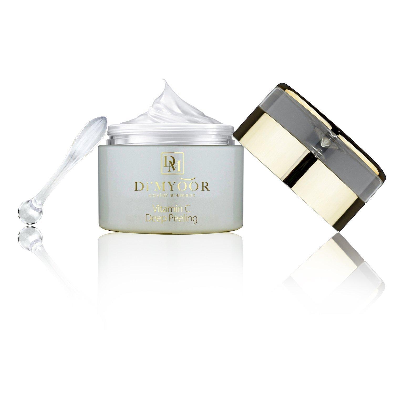 DiMYOOR Vitamin C Deep Peeling Gel with Caviar Extract Professionally Formulated Facial Exfoliator Removes