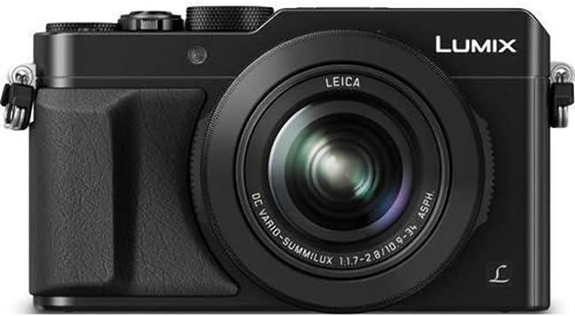 Amazon Com Panasonic Lumix Lx100 4k Point And Shoot Camera 3 1x Leica Dc Vario Summilux F1 7 2 8 Lens With Power O I S 12 8 Megapixel Dmc Lx100k Usa Black Manual Massage Tools Camera Photo