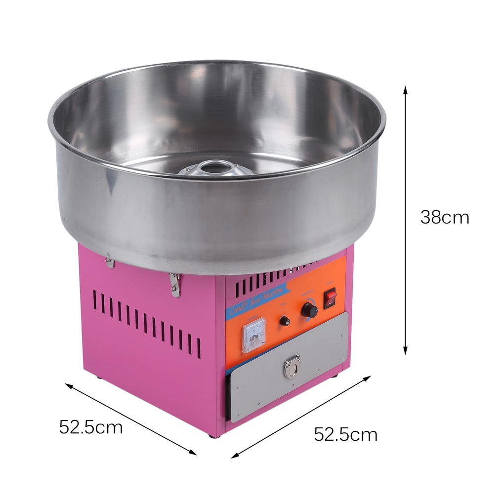 Full Automatical Commercial Cotton Candy Maker Machine Electric Cotton Candy Floss Machine,For Gathering Parties,Metal by Youghalwell (Image #2)