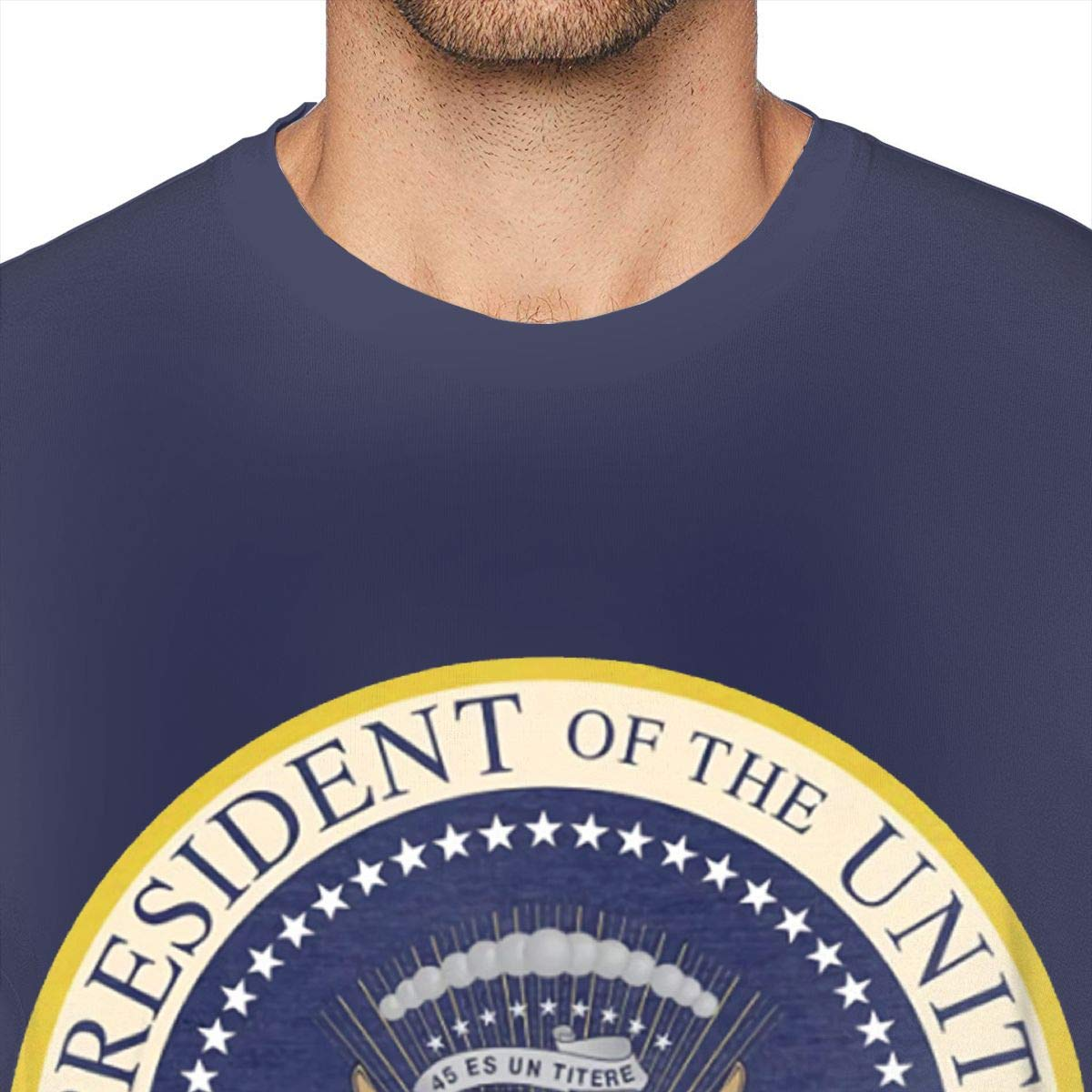 45 ES Un Titere President Seal T-Shirts Graphic T-Shirts Gift Tee Funny T-Shirts