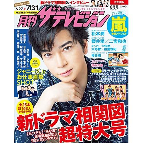 月刊ザテレビジョン 2019年8月号 表紙画像