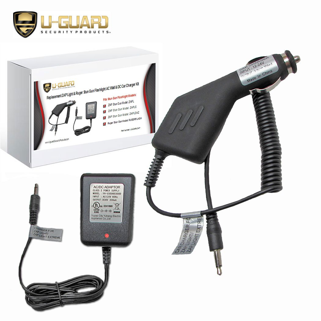 30%OFF ZAP Light Charger Stun Gun Flashlight Wall Charger