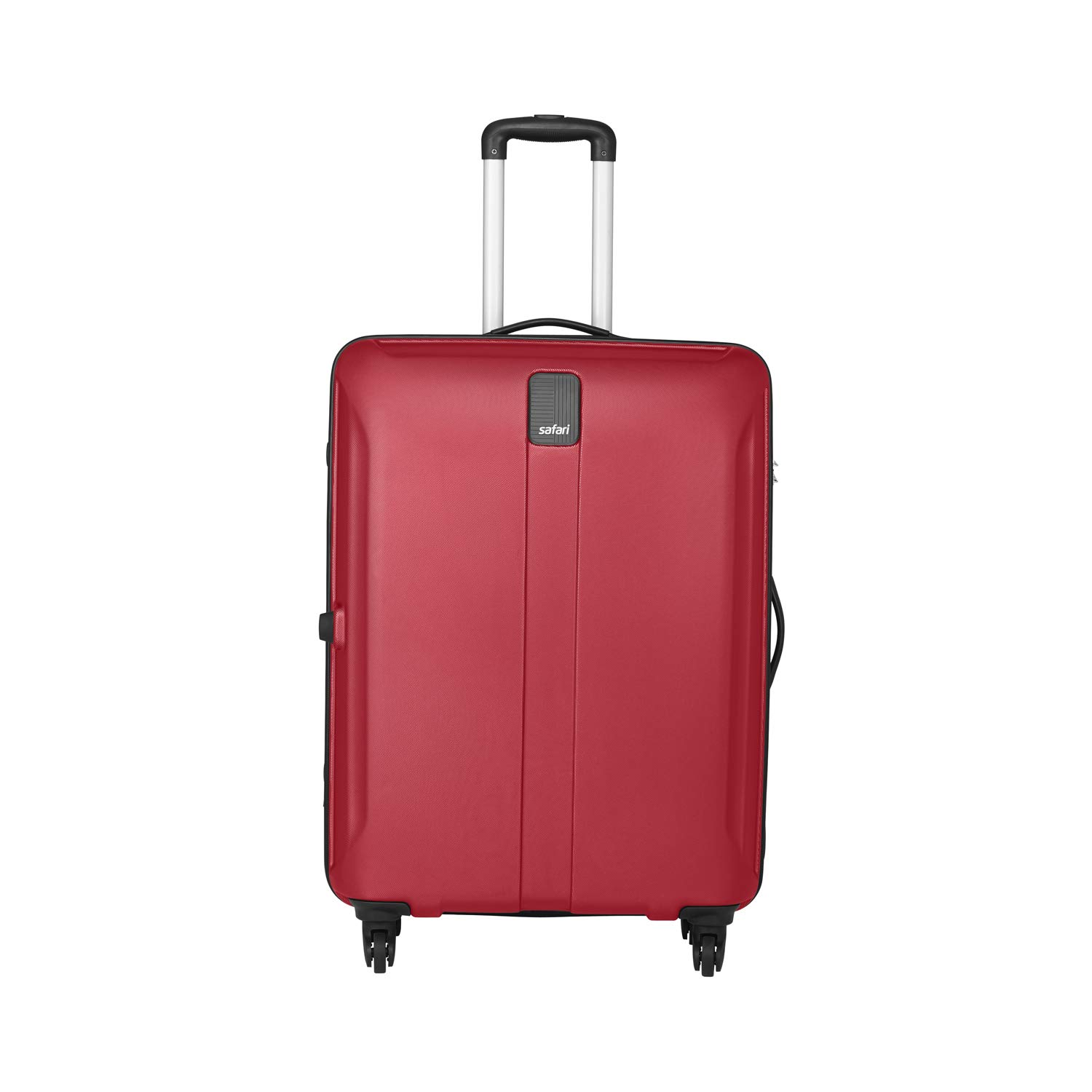 Safari Polycarbonate 55 cms New Red Hardsided Cabin Luggage (THORSHARPANTI554WNRE)