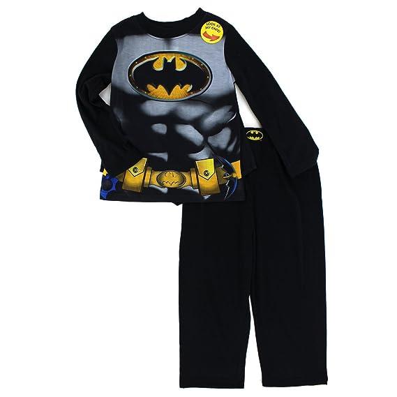 DC Comics Batman Niños Manga Larga Pijama Poly con Capa