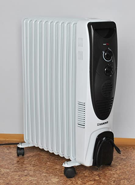 Aceite Radiador Eléctrico Calefacción 11 costillas – Convector Radiador 2900 W # 2841