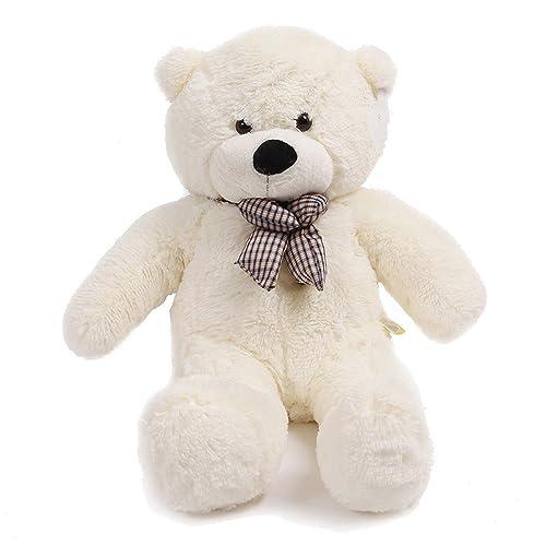Big bear amazon qiyun 47 white color 12m giant huge cuddly stuffed animals plush teddy bear toy publicscrutiny Gallery