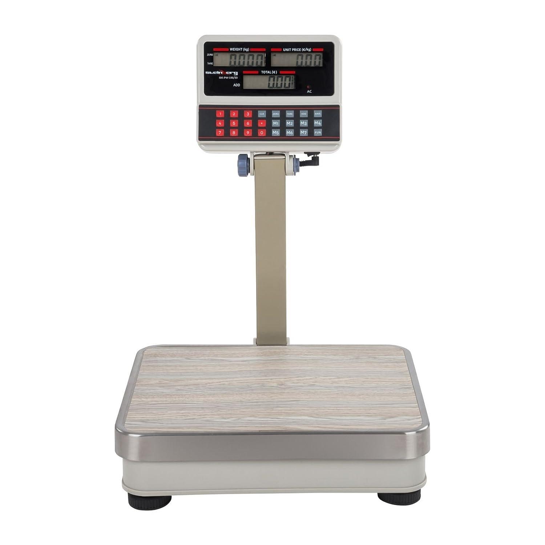 Steinberg Systems - SBS-PW-100/10 - Balanza comercial - 100 kg / 10 g- blanca - LCD - Envío Gratuito: Amazon.es: Industria, empresas y ciencia