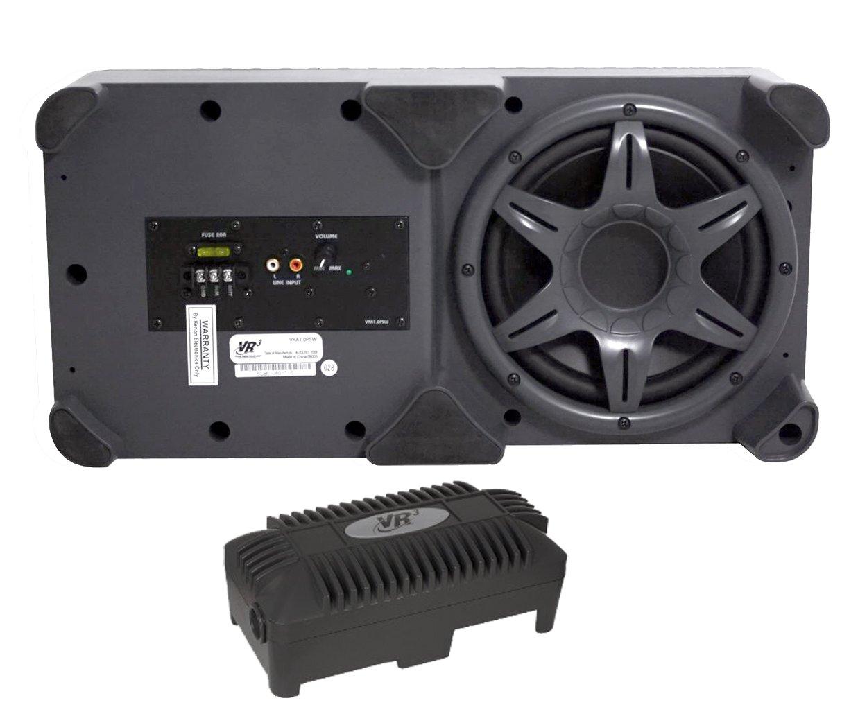"Amazon.com: VR3 VRA1.0PSW 400-Watt 8"" Powered Car Subwoofer [Electronics]:  Car Electronics"