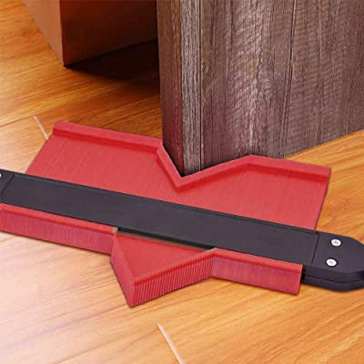 Contour Gauge Duplicator with Metal Lock Lytool 2 Pcs Profile-Gauge Tool DIY Duplication Tool for Irregular Welding Woodworking Tracing Tiles and Laminate Corners 10 in+5 in