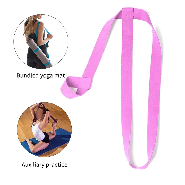 Amazon.com: Correa ajustable para yoga, 13 colores, correa ...