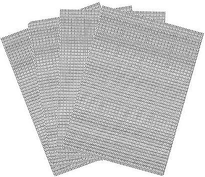 Vand Malla de alambre tejida de acero inoxidable 304 agujero de 0,9 mm a prueba de insectos y roedores cubierta de ladrillo de aire 4 hojas 25 cm x 25 cm