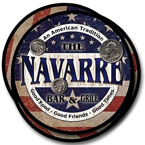 Amazon.com: Navarre Family Bar and Grill Rubber Drink ...