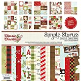 Simple Stories 7300 Classic Christmas Collection Kit