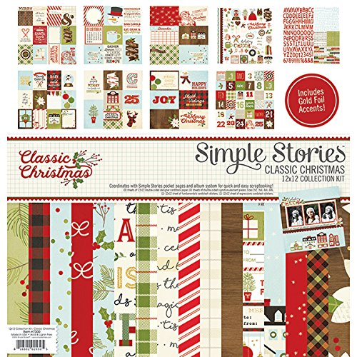 Simple Stories 7300 Classic Christmas Collection Kit by Simple