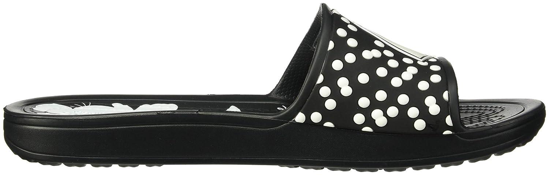 Men's Clothing United Crocs Kadee Minnie Slip On Slingbacks Black & White Polka Dot Sz 11~new Cheap Sales 50%
