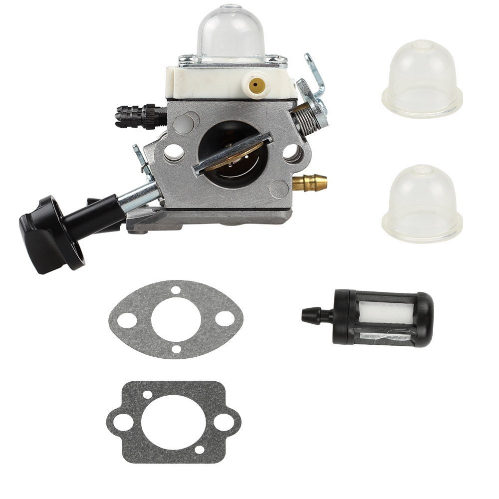 Qauick Carburetor with Gasket Fuel Filter For Stihl Blower SH56 SH56C SH86 SH86C BG86 BG86CE BG86Z BG86CEZ Zama C1M-S261B 42411200616 Leaf Blower Carb