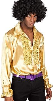 Boland- Disco Party Camisa, Color Oro, Uomo: Large (Ciao SRL 27761)