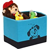 PrettyKrafts Storage Box - Open - Closet Organizer - Laundry Keeper - Impreio_Blue