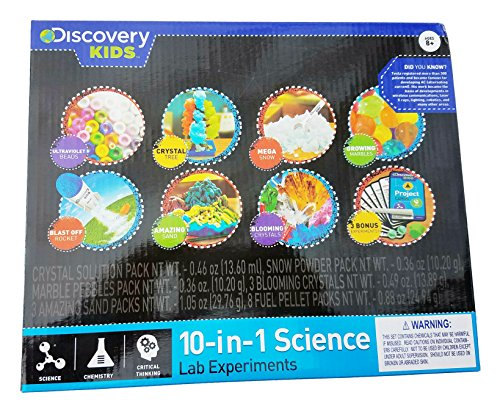 Discovery Lab (Discovery Kids 10-In-1 Science Lab Experiments)