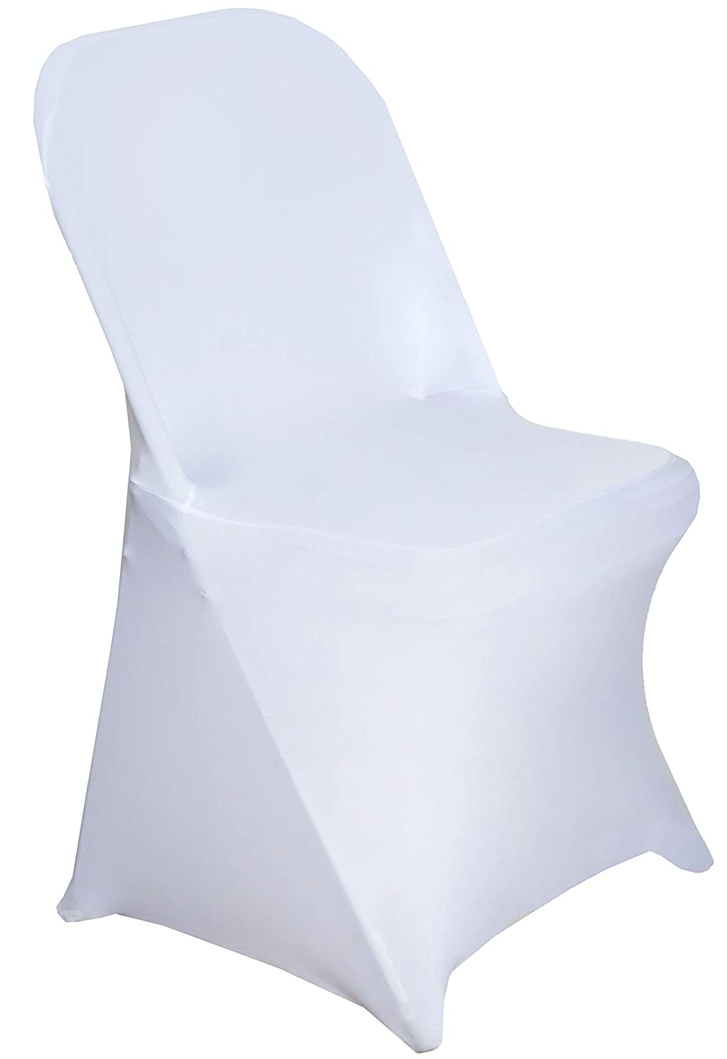Prime 12 Pack Stretch Spandex Folding Chair Covers For Wedding Banquet Party White Camellatalisay Diy Chair Ideas Camellatalisaycom