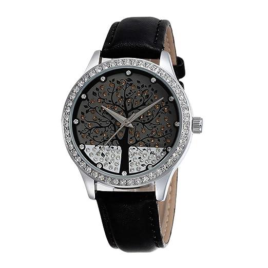Diamante de imitación Arbol de la Vida Relojes de Mujer 2fe29622fc21