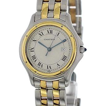 76d9cf55dfce6 Image Unavailable. Image not available for. Color  Cartier Panthere de  Cartier Quartz Female Watch ...