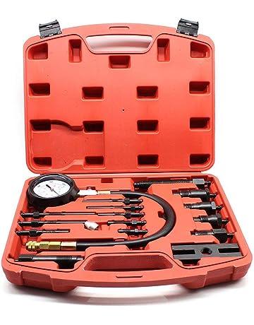 Desconocido KAHE2016 - Kit de Herramientas de Prueba de compresión para el Motor diésel, medidor