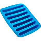 Silicone Ice Cube Sticks Tray - Blue Color Stick Size Ice Cube Tray - Perfectly Shaped For Fitting In Water Bottles – Colorful. Flexible And Non-Stick – By Kitch N' Wares