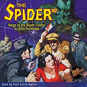 Spider #20, May 1935 (The Spider) Audiobook