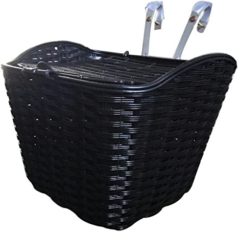 Cesta Multiuso de la Bicicleta del Negro Ideal para el almacenaje ...