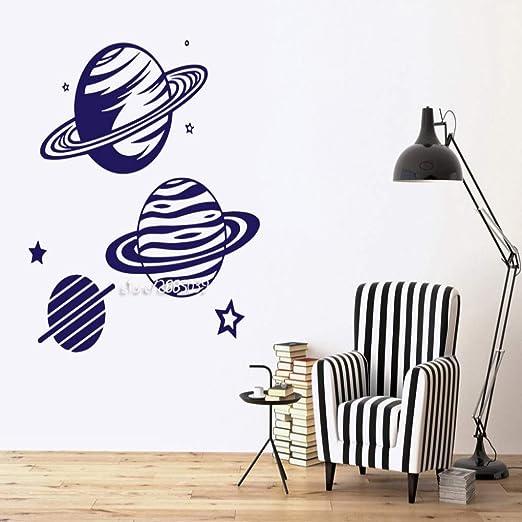 JXNY Planetario Planetas Imagen Vinilo Pegatinas de Pared Estrella ...