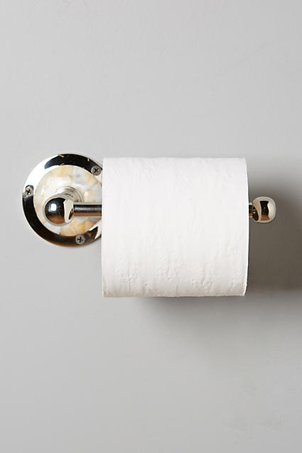 Candescent Toilet Paper Holder - anthropologie.c​om