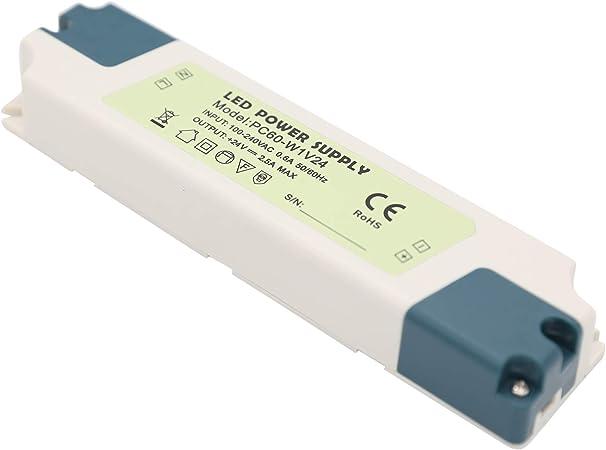 sélection premium images détaillées recherche d'officiel Daxpoo Led Ruban Transformateur 220v Volt 60W 24v Strip Bloc ...