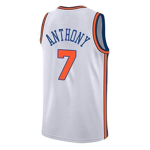 CCKWX Camiseta Unisex Jerseys para Hombre - New York Knicks # 7 ...