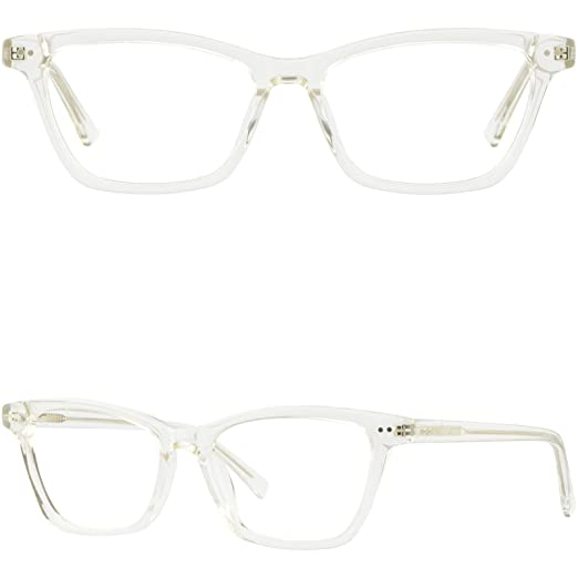 d77aa61d210 Image Unavailable. Image not available for. Color  Large Womens Plastic Frames  Spring Hinges ...