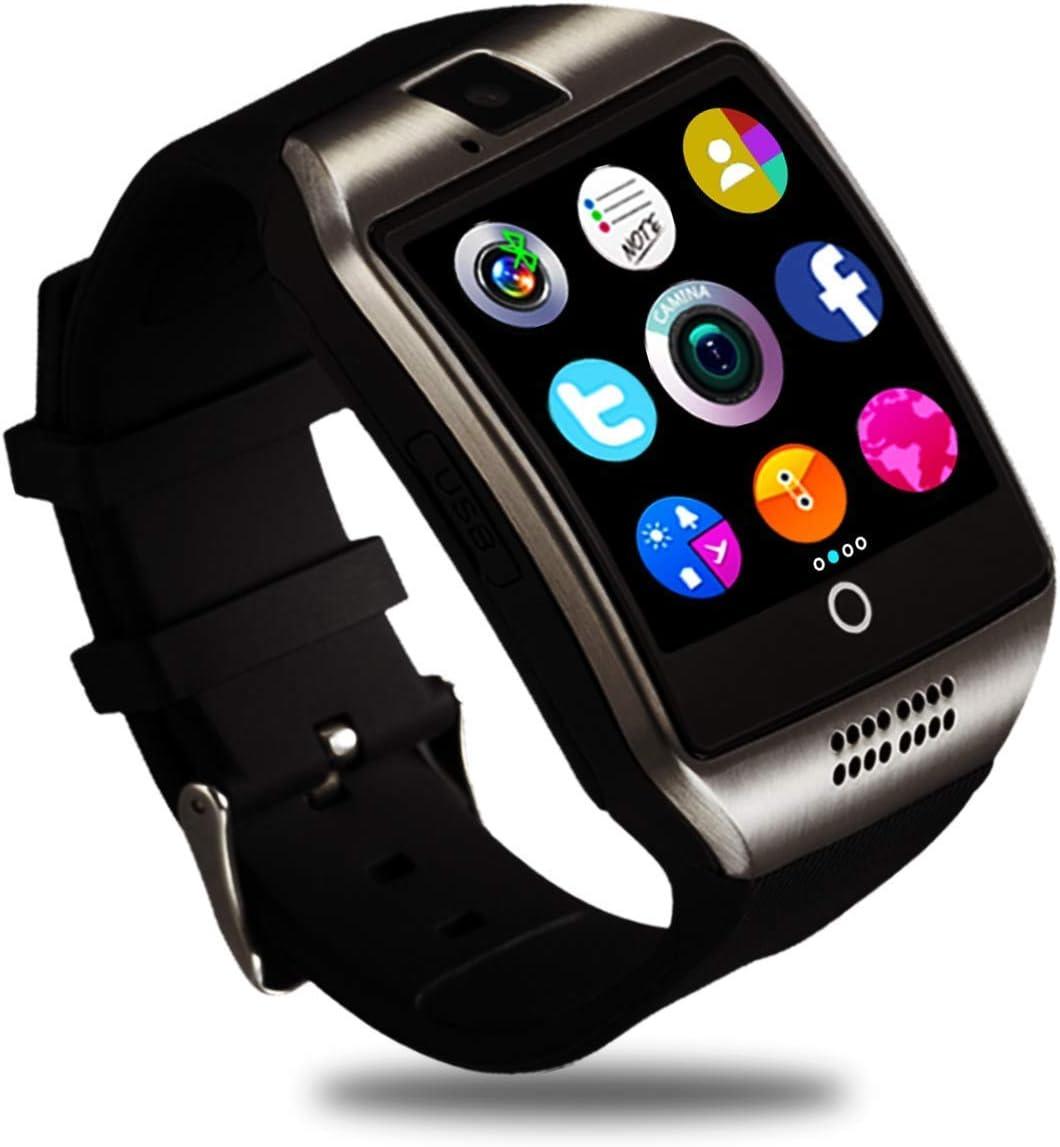 Smartwatch, Impermeable Reloj Inteligente Redondo con Sim Tarjeta ...