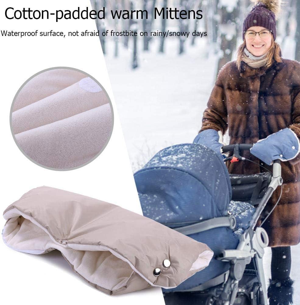 Black Taoytou Winter Stroller Mittens Hand Cover Buggy Muff Glove Accessories