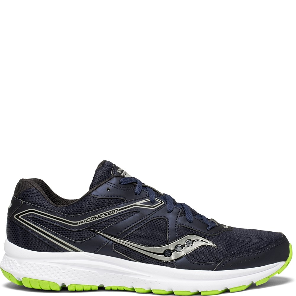 Saucony Cohesion 11 Wide Men 10 Navy | Slime