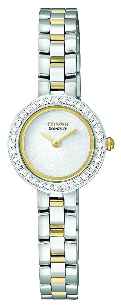 Citizen Women s EX1084-55A Eco-Drive Silhouette Crystal Watch