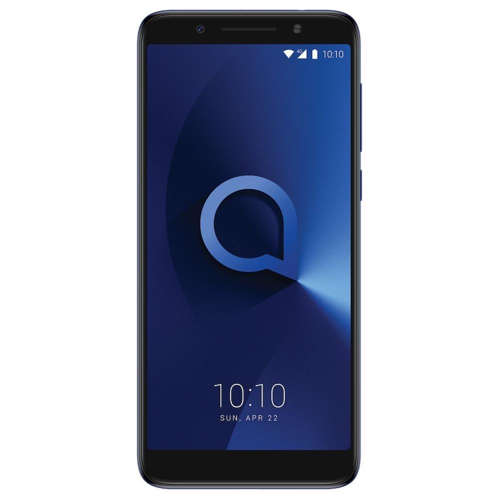 Alcatel 3X Smartphone, 32 GB, Metallico Blu [Italia]