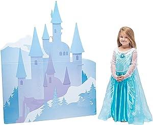 Winter Princess Castle Cardboard Stand-Up - Party Decor - 1 Piece