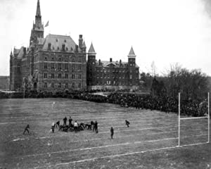 INFINITE PHOTOGRAPHS 1920 Photo: Washington DC | Georgetown University Hoyas Football | Vintage Photo Decor | Poster Wall Art