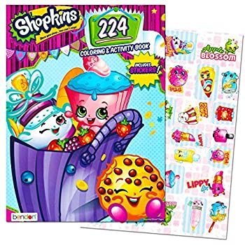Shopkins Giant Coloring and Activity Book with Stickers (224 Pages)